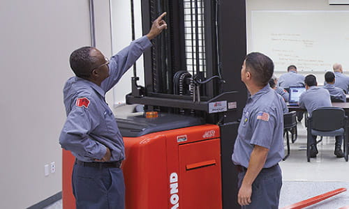 Arbor can train your forklift trainer