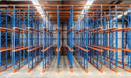 Arbor Drive In Racking Applications