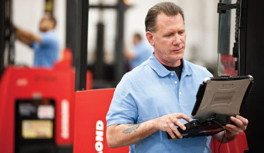 Certified Forklift Technician