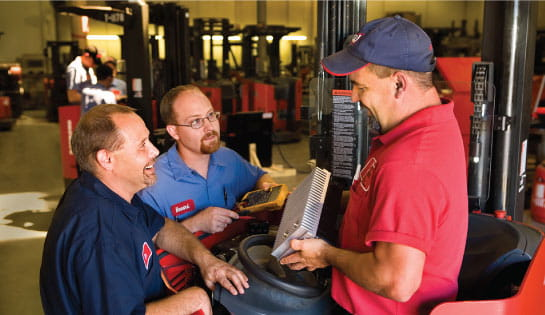 Equipment Service Technicians
