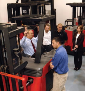 Arbor Forklift Operator Training Courses