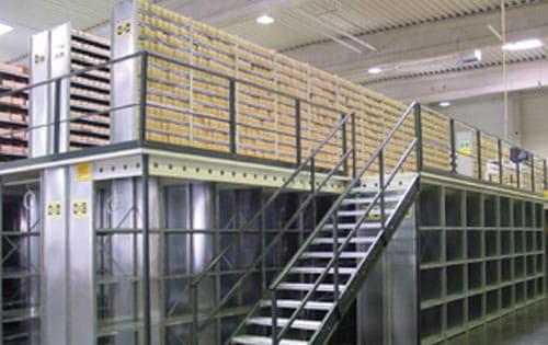 mezzanines storage space mezzanine solutions