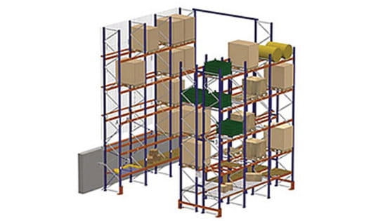 Selective Racking Application