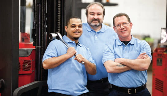 Group of Service Technicians