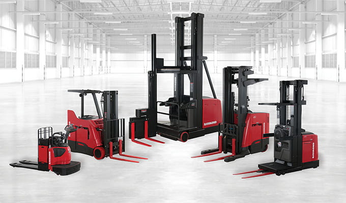 Raymond Lift Trucks, Pallet Jacks, Turret Trucks, Order Picker Truck